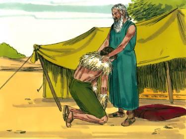 Jacob Travels to see Esau 10
