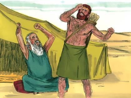 Jacob Travels to see Esau 11