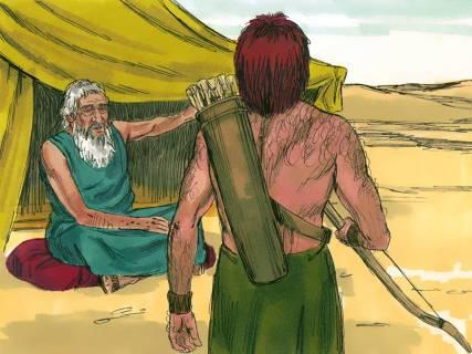 Jacob Travels to see Esau 5