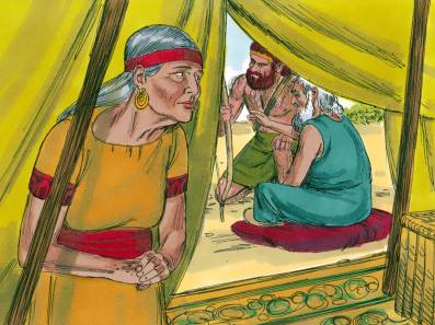 Jacob Travels to see Esau 6