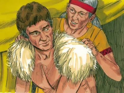 Jacob Travels to see Esau 7