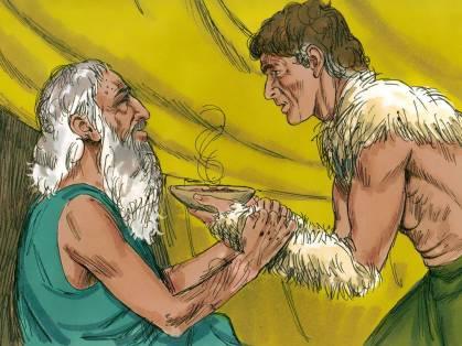 Jacob Travels to see Esau 8