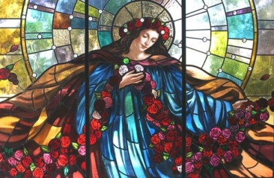 Niles, IL Maryhill Cemetery SG Mystic Rose Full